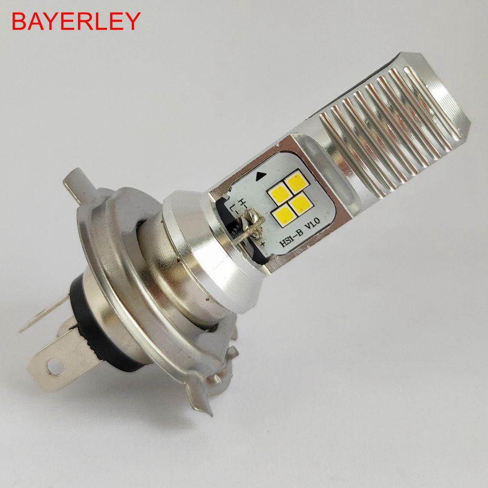 T19 LED Motorcycle LED Headlight Motorcycle Headlight HS1 LED P15D 4LEDs Chip 1000lm 6000K 1PC