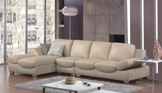 Mordern Leather Sofa Set Sectional Leather Sofa Made In