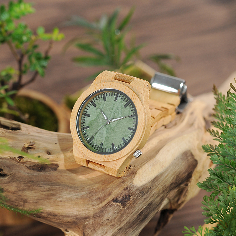 Bamboo Wood Wristwatch