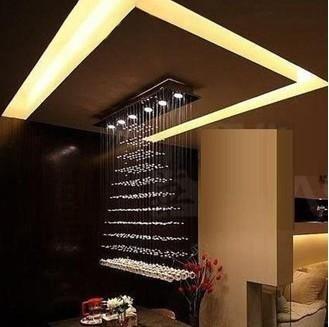 100cm Large Size Luxury New Modern Design Crystal Lighting Light Pendant Lamp Chandelier Dining Room