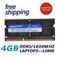 KEMBONA KBA16LS11/4 1600Mzh 4 Гб DDR3L 1,35 в PC3-12800L 1,35 в Ram Memoria для ноутбука Бесплатная доставка пожизненная Гарантия