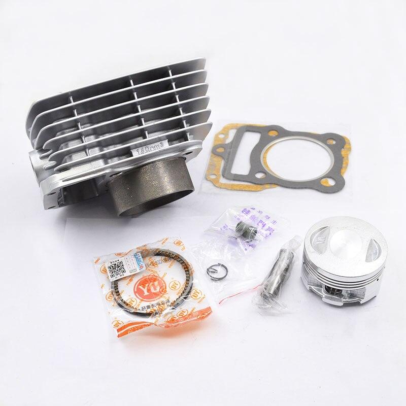 Moto anneau de piston de cylindre kit de joints 15mm Broches Pour Honda XLR125 XLR125Y/1/ES1/2/ES2 XLR 125 2000-2002 Big Bore Modification