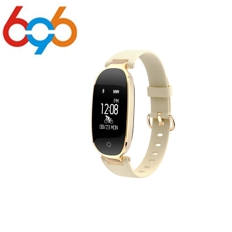 696 Orginal Fashion Smart Band Bracelet Girl Women Heart Rate Monitor S3 Wrist Lady Female Fitness Tracker Wristband