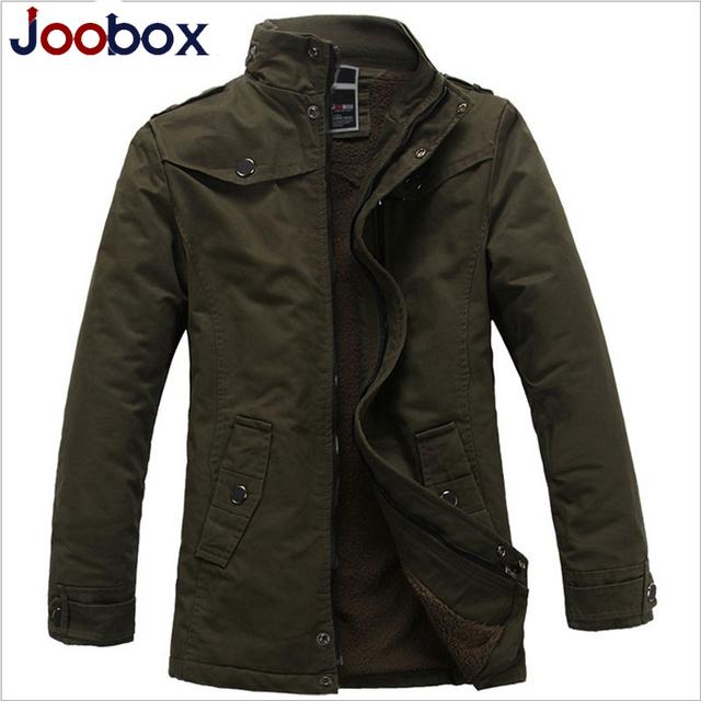 2017 Nueva llegada del estilo británico trench coat de los hombres gruesa caliente larga trinchera hombres de la capa de revestimiento de lana de invierno chaqueta de los hombres 3 colores (FY009)