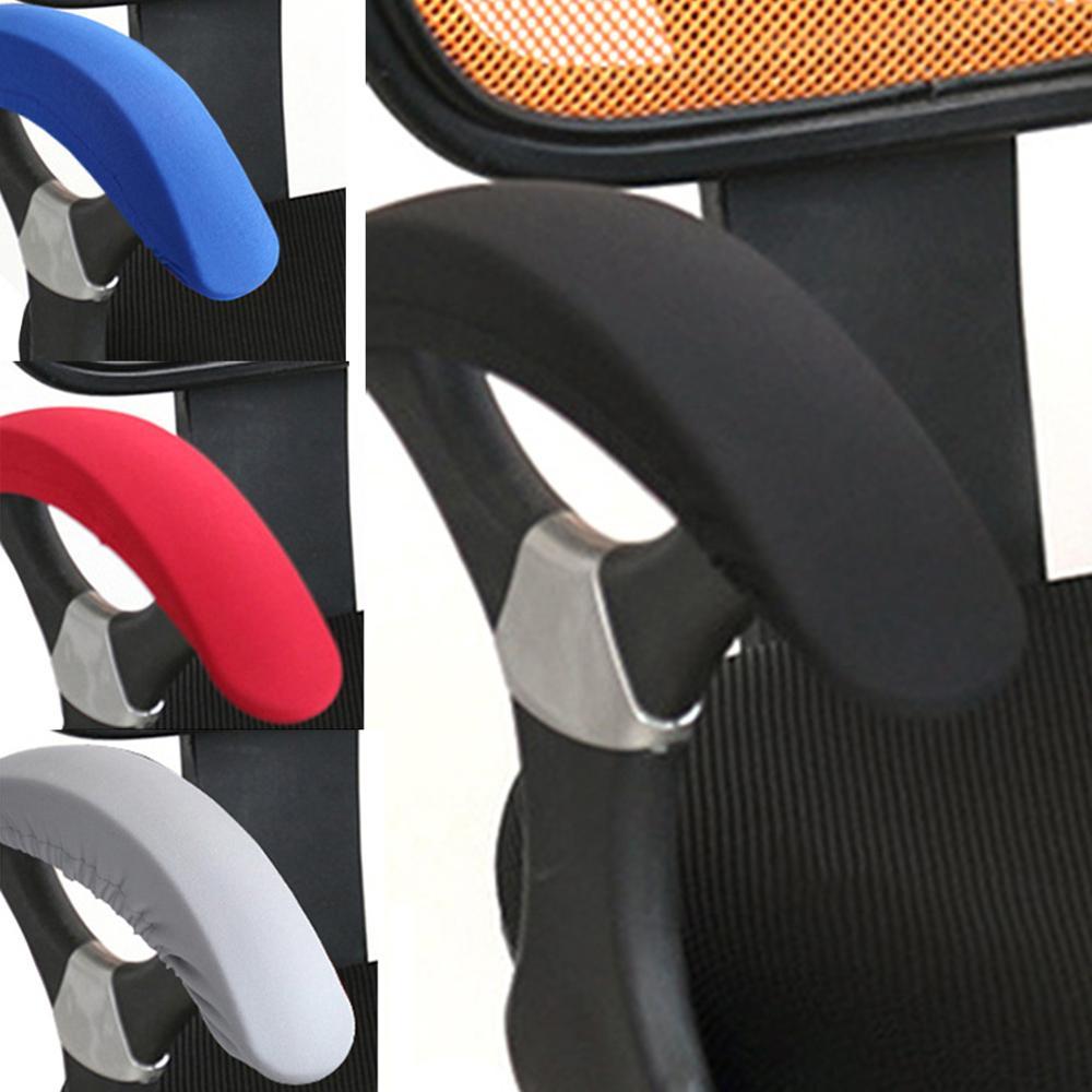 Chair Armrest Cover Office Computer Chair Covers Colourful Armrest Fundas Para Sillas Decoration Lycra Spandex Stoelhoezen Eetka