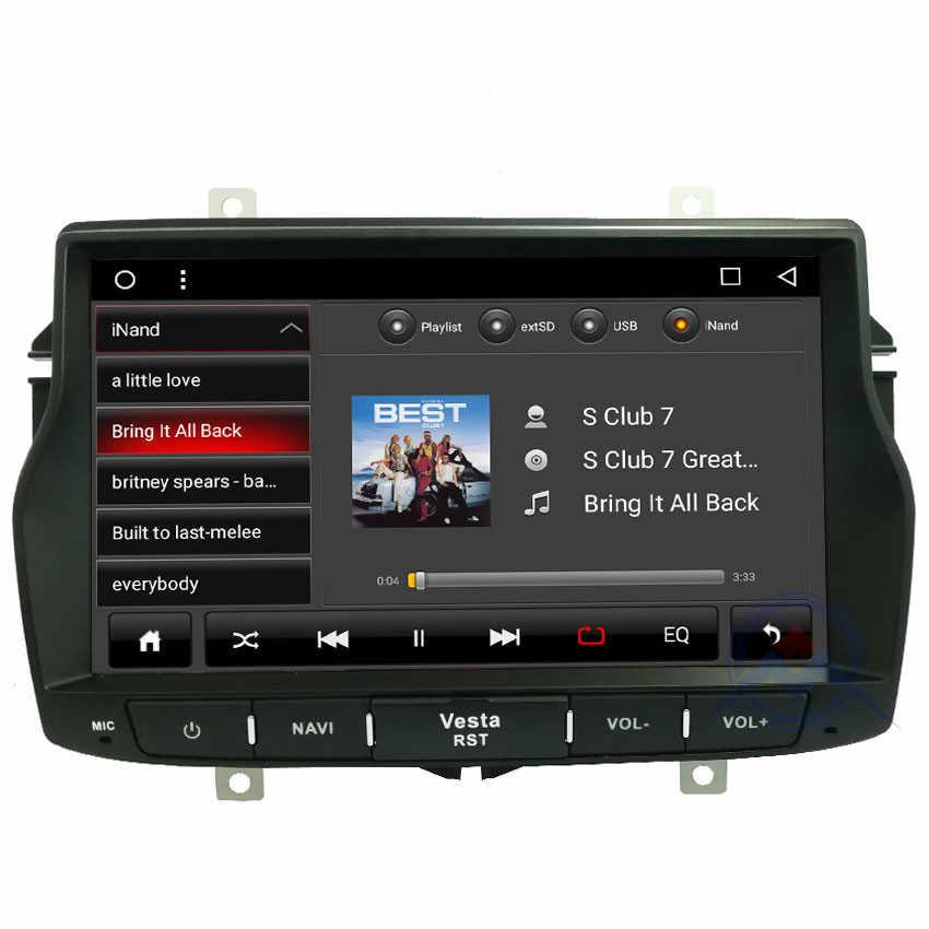 ZOHANAVI octa core Android 9.0 vesta samochodowy odtwarzacz DVD Radio dla LADA VESTA DVD nawigacja samochodowa gps 2GB RAM 32GB ROM