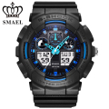 SMAEL Sport Electronic Watch Fashion Leisure Digital Quartz Watches Sport  Reloj Hombre Casual Mens Wrist Watch Present 1027