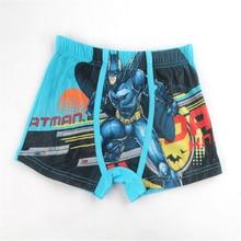 5Pcs Popular Bat Man Baby Boys Underwear Panties High Quality Toddler Shorts Briefs 3-11Year Children Boys Shorts Kids Panties