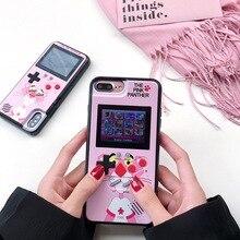 Цвет экран игры Чехол для iPhone XS Max/XS/XR 6/6 S 7/8 6/6splus 7/8 plus Электронные ПК Жесткий Чехол черный/белый/розовый леопард