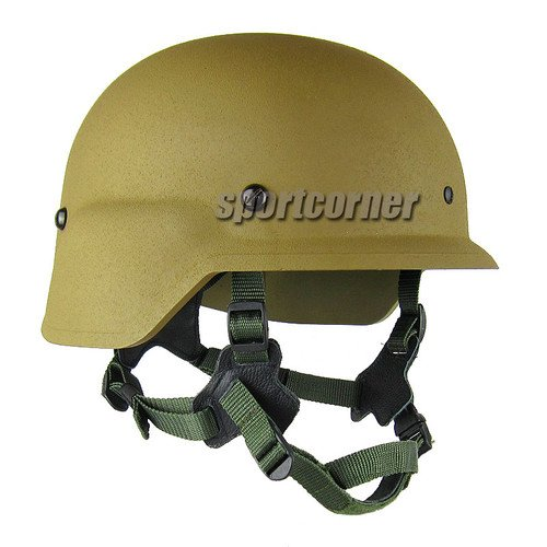 New Replica USMC GEN II LWH Marine Helmet ABS MICH ACH Coyote Brown for hunting