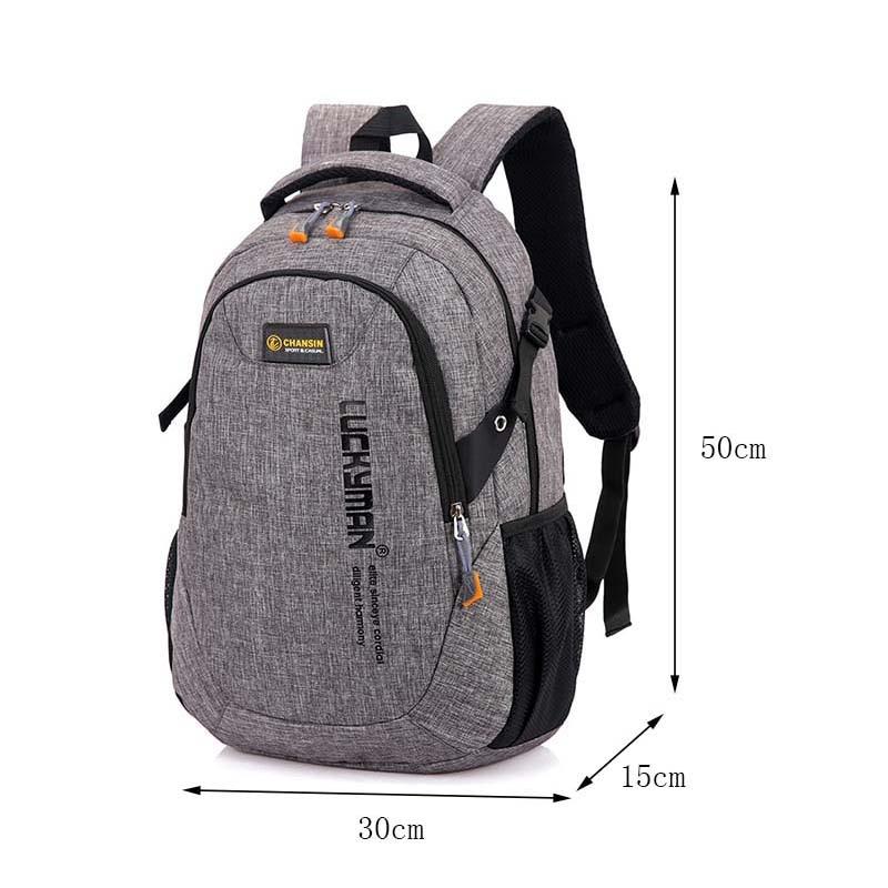 Men's Backpack Women Backpack Female School Bag For Teenagers Men Laptop Backpacks Men Travel Bags Large Capacity Student Bags #3
