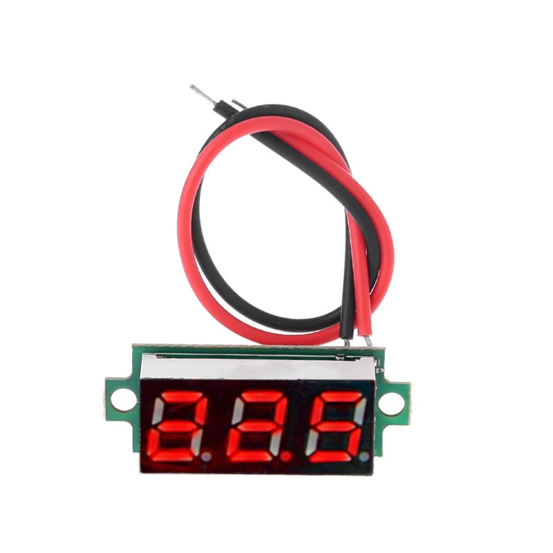 """OOTDTY DC 4-28V 0.28"""" LED Display Digital Thermometer Module for DS18B20 Temperature Sensor RED 22x10x8mm"""