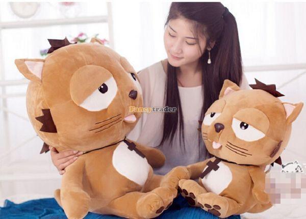 Fancytrader 35\'\' 90 Korean TV Soaps Plush Stuffed Lzay Dinga Cat, Free Shipping FT50250 (6)