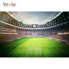 цена Yeele Football Field Stadium Stand Photography Backdrops Sports Customized Poster Photographic Backgrounds For Photo Studio Kids онлайн в 2017 году