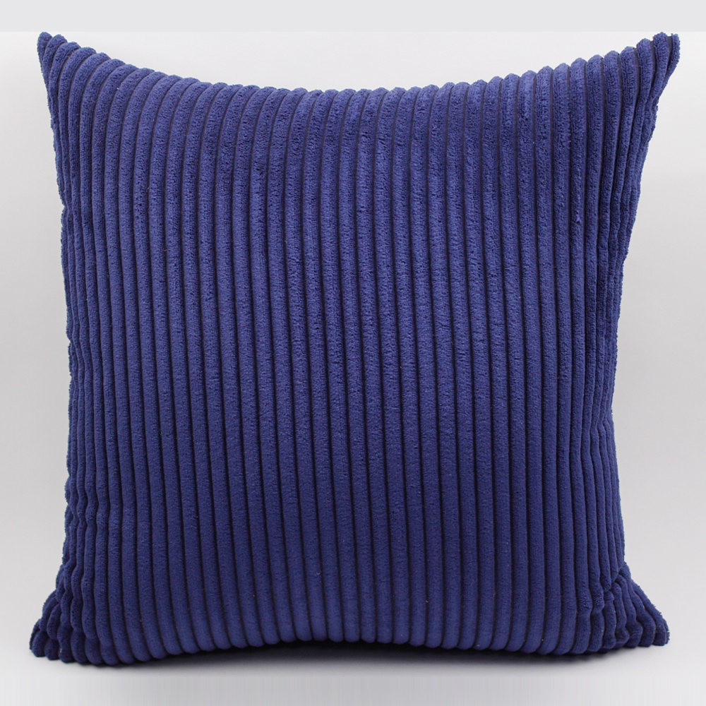 Gggggo home corduroy fabric sofa cushion cover 40x40cm for Sofa 70 cm profundidad