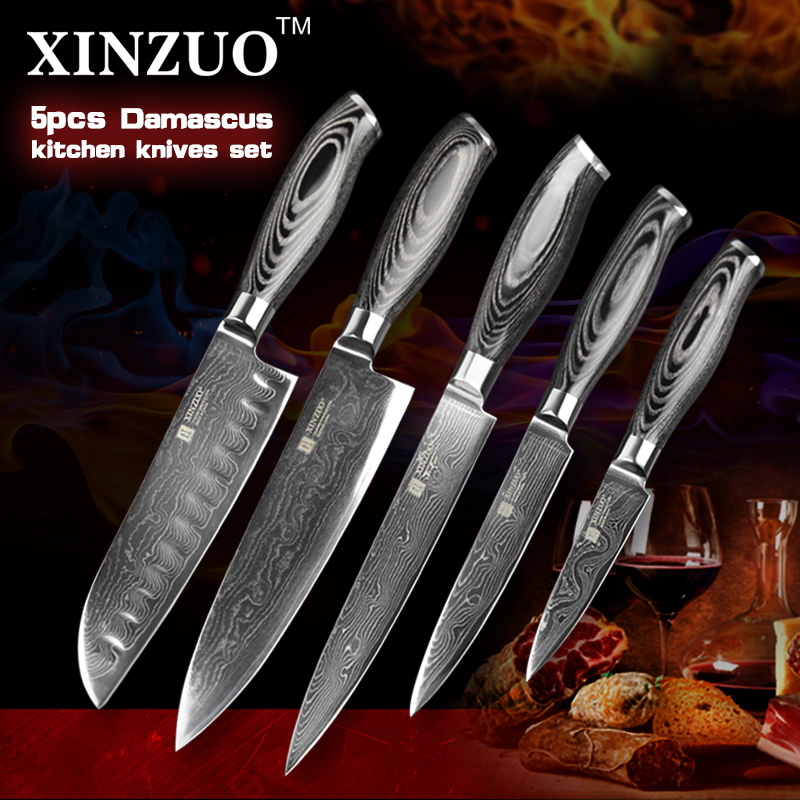 online buy wholesale damascus steel kitchen knife set from online buy wholesale damascus steel kitchen knife set from
