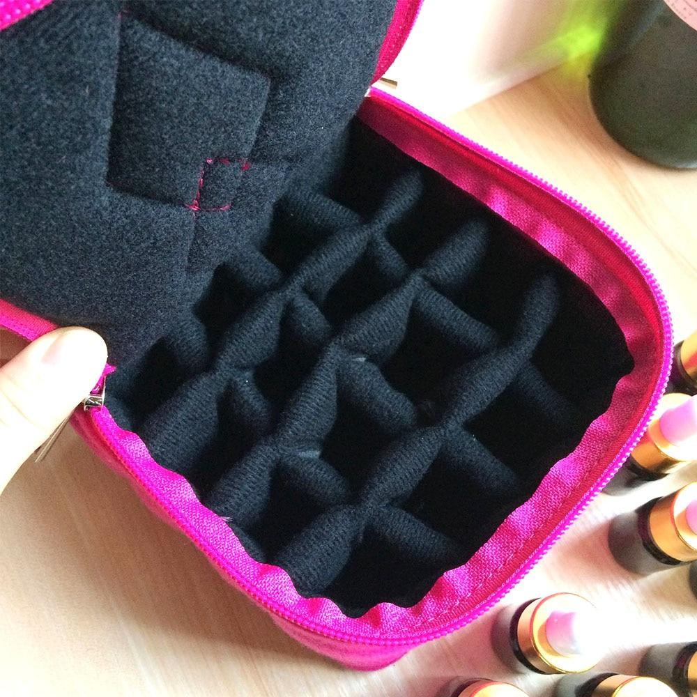 Portable 16 makeup tools bag carrying holder case travel makeup tool ...