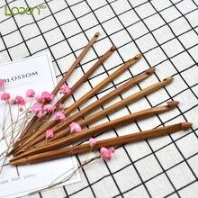 7 Pcs/set Looen Bamboo Magic Knitting Needles Crochet Hooks size 3.5-6.5mm for Mom DIY knitting Handmade Crafts Needlework