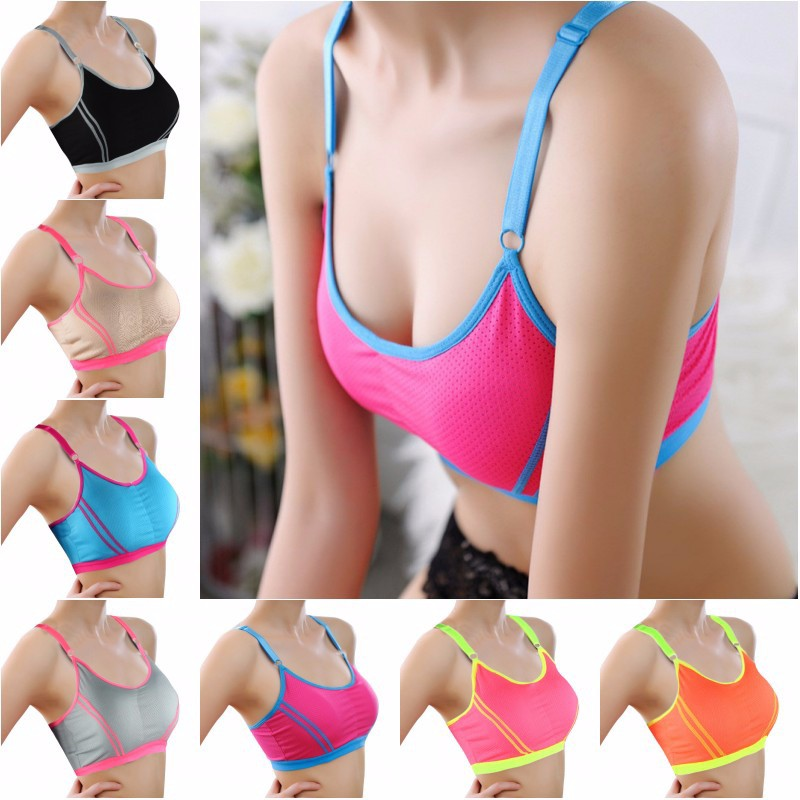 Fitness Women Yoga Top Sexy Push-up Sports Bra Yoga Fitness Vest Sport Bra Workout Running Top Bra 3