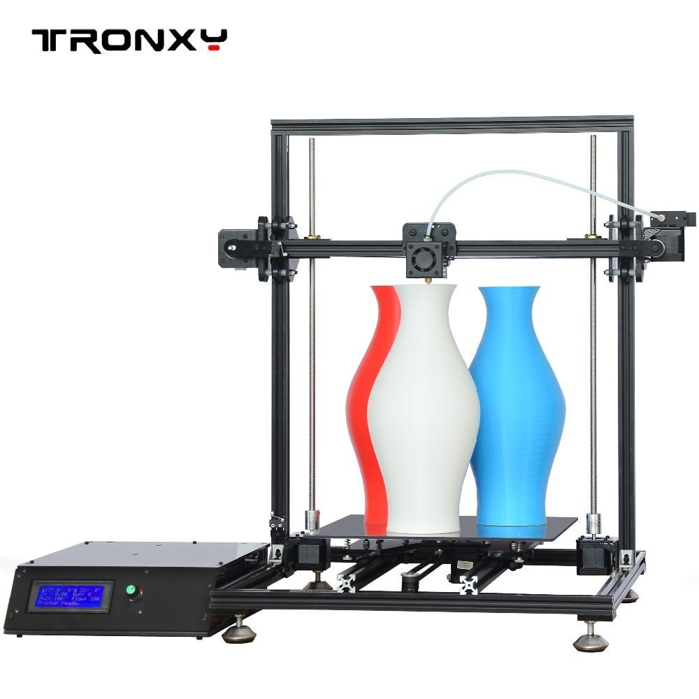Tronxy Prusa i3 3D Printer Aluminium Profile Frame High Precision Impressora DIY Kit 2017 Newest Machine 2017 newest tevo tarantula prusa i3 3d printer diy kit
