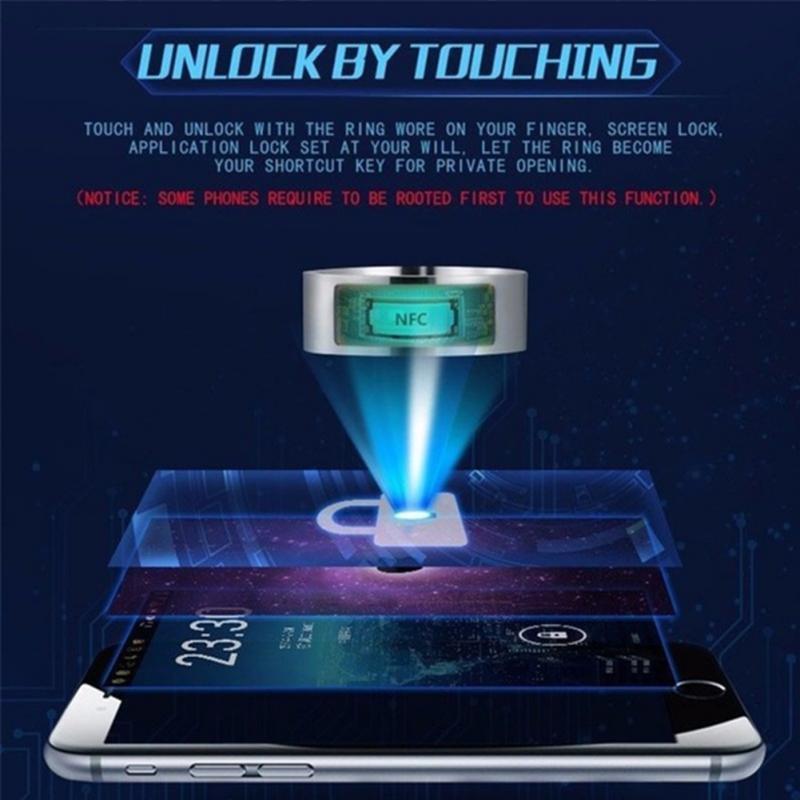 NFC Multifunctional Waterproof Intelligent Smart Ring 14