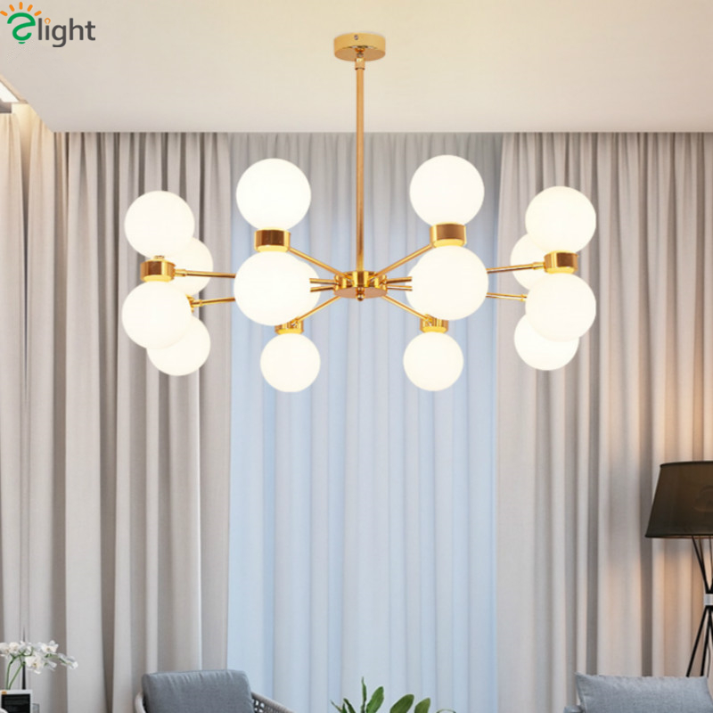 Post Modern Lustre Plate Gold G9 Led Chandelier for Foyer Frosted Glass Globes Pendant Chandelier Lighting Indoor Lighting caged onion post verdi gris with galley 3 candelabra sockets frosted glass