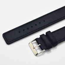 New watch bracelet belt black watchbands genuine leather strap band 18mm 20mm 22mm accessories wristband 2018 new
