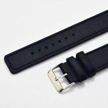 New watch bracelet belt black watchbands genuine leather strap watch band 18mm 20mm 22mm watch accessories wristband 2018 new все цены