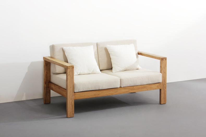 After the pine wood sofa sofa pure Chinese modern minimalist living