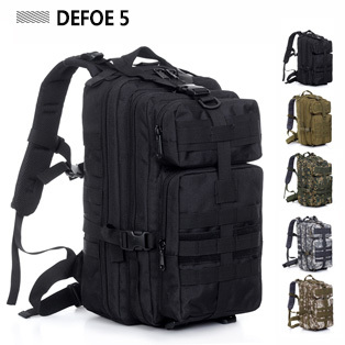 Brand New Men's Outdoor Military Tactical Backpack Hiking Trekking Camping Bag Rucksack Sport Climbing Survival Carry Retail - DEFOE 5 Outdoors store
