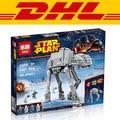 2016 Nueva LEPIN 05051 1157 Unids Star Wars The Force Despierta AT-AT Modelo Kit de Construcción de juguete Ladrillos Bloques Juguetes Compatibles 75054