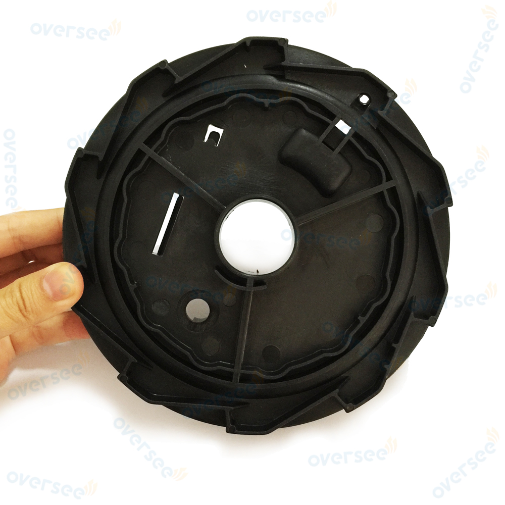 Oversee STARTER DRUM SHEAVE WHEEL fit Parsun Yamaha Outboard 9.9HP 15HP F20 F6 8 15 T 63V-15714-00 3
