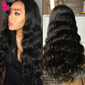 8A Grade Unprocessed Virgin Brazilian Glueless Full Lace Human Hair Wigs Natural Hairlinebodywave LaceFront Wigs for Black Women