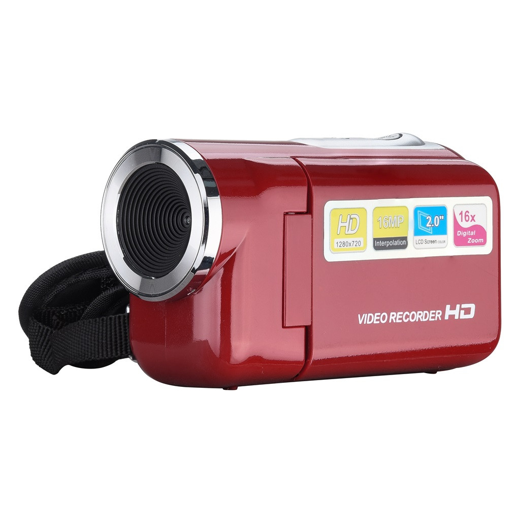 2019 Video Camcorder HD 720P Handheld Digital Camera 4x Digital Zoom 2.0 inch 28#