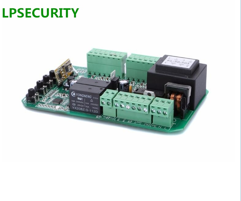 Image 2 - LPSECURITY 4 consoles AUTOMATIC AC SLIDING GATE OPENER motor CONTROL BOARD Card power controller MOTHERBOARD FOR py600 py800