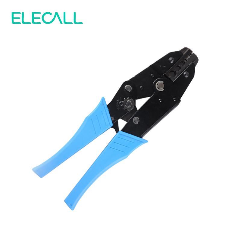 Coaxial Cable Crimping Tool Pliers Ratchet Terminal Crimping Tool Plier For Crimp Terminal And Connector HDTV BNC/TNC Tue 75-Ohm proskit cp 301n high level terminal block ratchet crimping pliers crimping tool free shipping