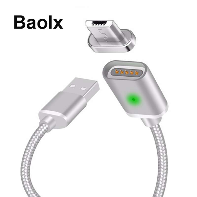 Magnetic Cable Micro USB/ Type C USB USB-C 3.1 Data Phone Charger Cable Magnet Fast Charging For Samsung Android Cellphones