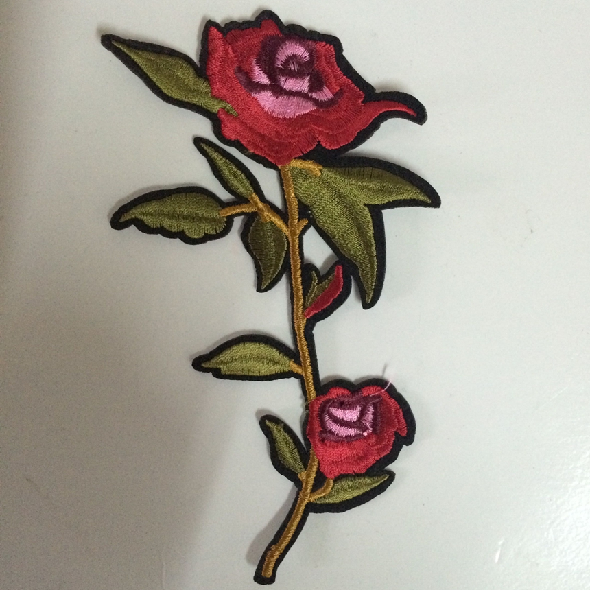 Pulsuz Göndərmə Yeni Moda Nice Flower Patch Geyimlər üçün - İncəsənət, sənətkarlıq və tikiş - Fotoqrafiya 5