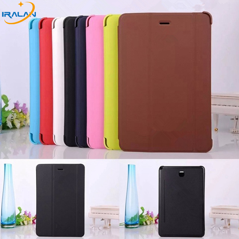 Hot wholesale Business Ultra Slim Smart Pu Leather Book Cover Case For Samsung Galaxy Tab A 8.0 T350 T351 T355 free shipping