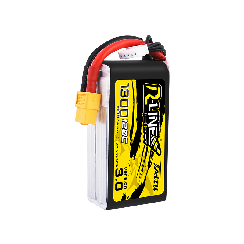 Image 2 - New Tattu R line 120C V3 1300/1550/1800/2000mAh 120C 4S 14.8V Lipo Battery with XT60 Plug for FPV Racing Drone RC Quadcopter-in Parts & Accessories from Toys & Hobbies