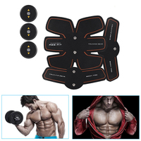 New Smart EMS Muscle Stimulator Training Fitness Gear Muscle Abdominal Exerciser Toning Belt Battery Abs Fit Muscles XNC