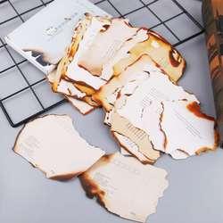 30 листов прекрасная сгоревшая открытка письмо подарок на день рождения открытка желание сообщение Плакат карты