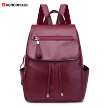 ge Wind School Bag Backpack Girl Mochila