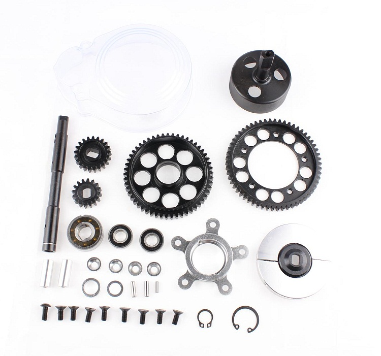 New  2 Speed Gear Kit for HPI Baja 5B SS 5T 5SC T1000, SS Rovan Buggy Truck speed gear в луганске