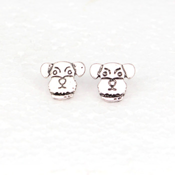 hzew Irish Wolfhound Stud Earrings dog earring gift image