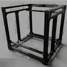 DIY BLV Mgn куб рамка комплект и аппаратный комплект для CR10 3d принтер, BLV рамка