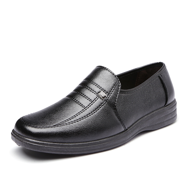 Nice Luxe Hommes Chaussures Cuirmx811616 Mocassins Noir Mode 3RA54jL