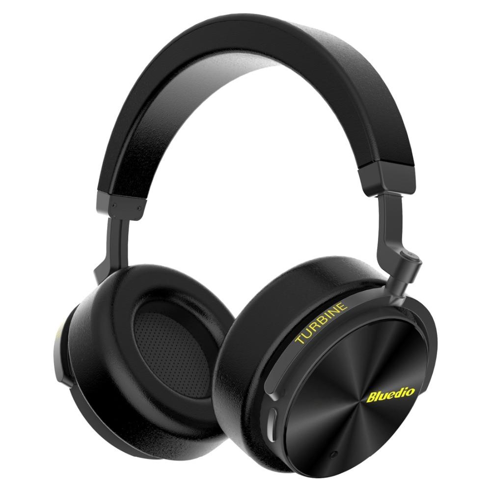 Bluedio T5 casque sans fil Bluetooth sur l'oreille casque écouteur avec suppression de bruit pour téléphone portable