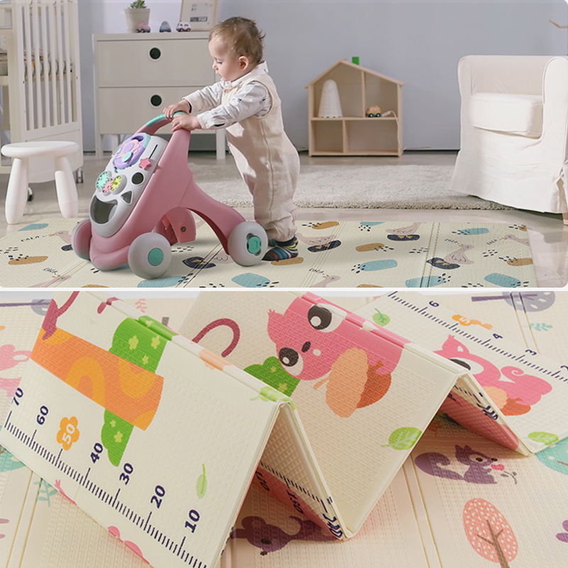 150X200CM Infant Shining Baby Play Mat Xpe Puzzle Children's Mat Thickened Tapete Baby Crawling Yoga Folding Mat Baby Carpet