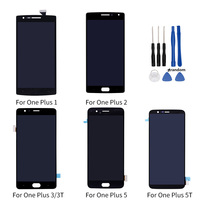 Netcosy For One plus 1 A0001 2 A2005 3 A3000 3T A3010 LCD Display+Touch Screen Digitizer For Oneplus 5 A5000 5T A5010 LCD Screen